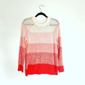 AERIE Ombre Pink Sweater